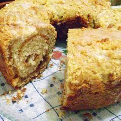 Zoet brood met dulce de leche recept
