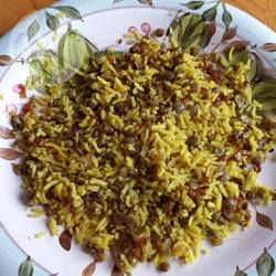 Linzen en rijst recept