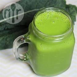 Smoothie met spinazie en boerenkool recept