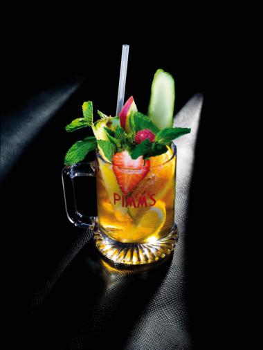 Recept 'pimm's royal'