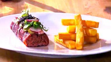 Recept 'huisgemaakte steak tartaar met frietjes'