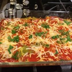 Pittige ovenschotel met ei en kaas recept