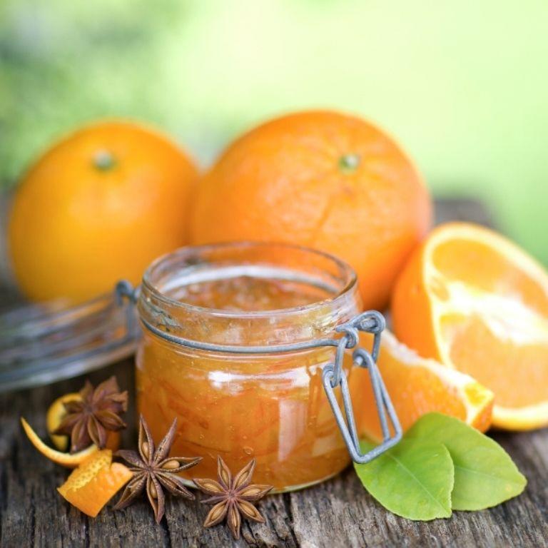 Recept 'sinaasappelmarmelade'