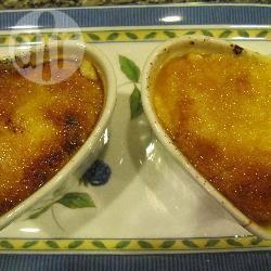 Crème brulée hartjes recept
