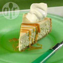 Macchiatocheesecake met karamel recept