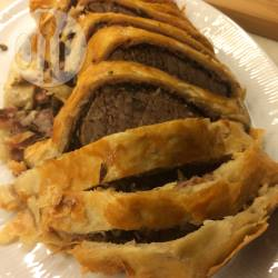 Beef wellington (met rosbief) recept