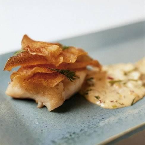 Fish `n `echte` chips recept