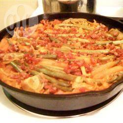 Cascadia fideuà (spaanse spaghetti) recept