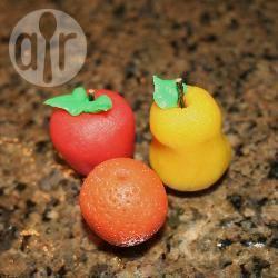 Marsepeinen fruit recept