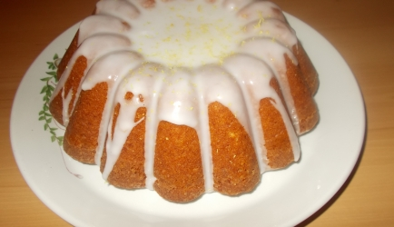 Lemon yoghurt cake recept