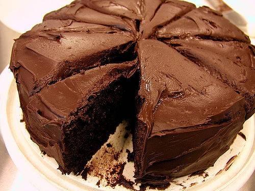 recept eenvoudige chocoladetaart