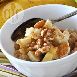 Gezond ontbijt met quinoa, havermout en bananen recept ...