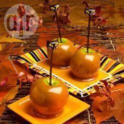 Eenvoudige karamelappels recept