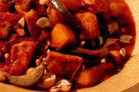 Kalkoencurry met mango en cashewnoten recept