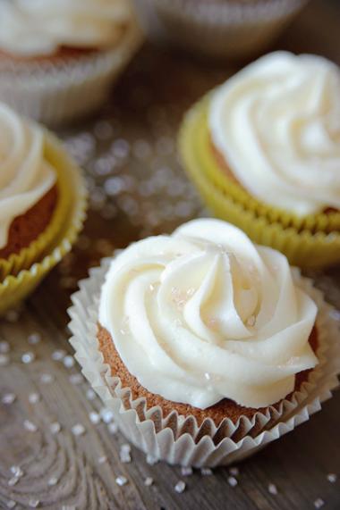 Recept 'cupcakes met drop & pepermunt'