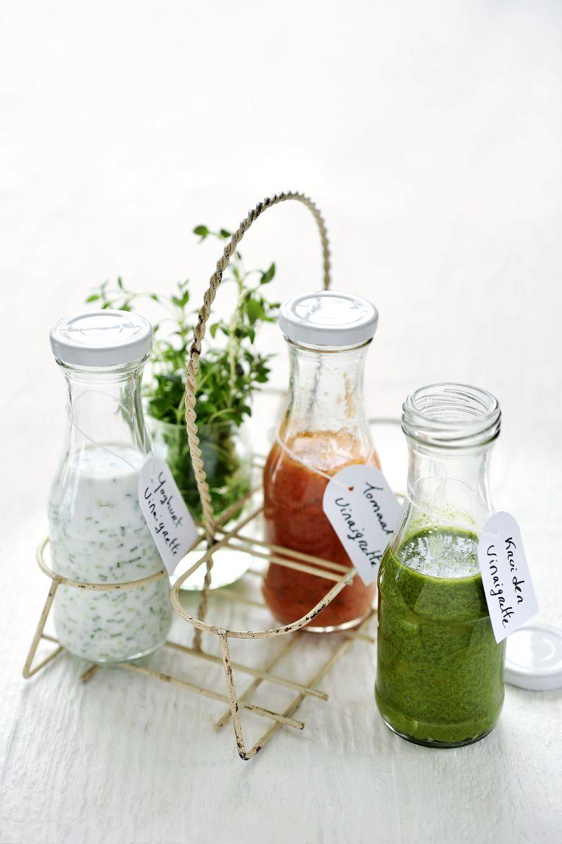 Recept 'groene kruidenvinaigrette'