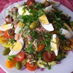 Authentieke salade nicoise recept