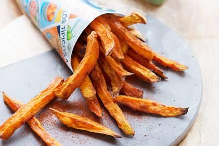 Zoete-aardappelfrites