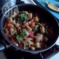 Marokkaanse stoofpot met kikkererwten recept