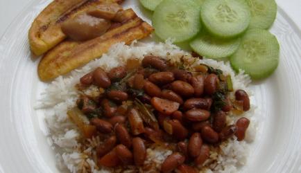 Overheerlijke surinaamse bruine bonen met rijst recept