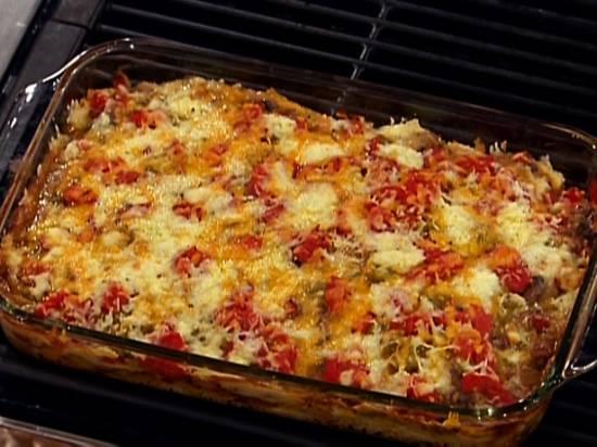 Pittige goed gevulde mexicaanse ovenschotel recept