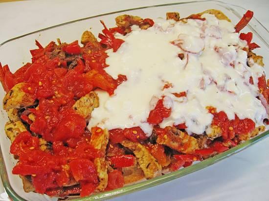 Ovenschotel turkse kebab met tomaten-feta saus recept ...