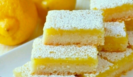 Lemon bars recept