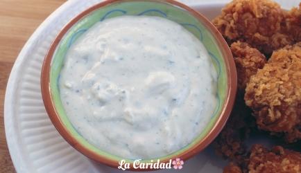 Blue cheese dip recept