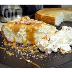 Cheesecake met toffee en pecannoten recept
