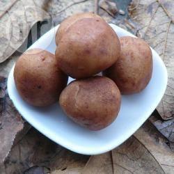 Marsepeinen aardappeltjes recept