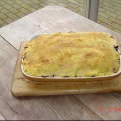 Rode koolschotel met gehakt recept