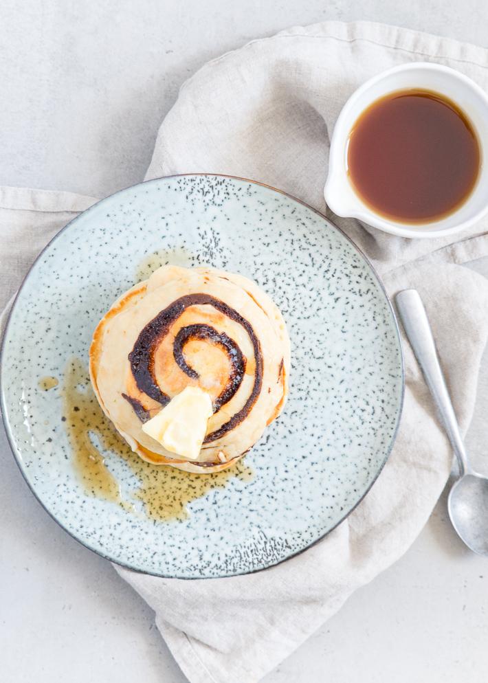Kerstontbijt: gingerbread pancakes