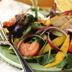 Salade met gegrilde kip recept