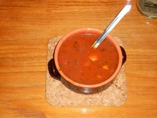Verse tomatensoep met ballen en old amsterdam recept ...