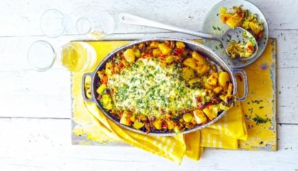 Preischotel met gehakt en ananas recept