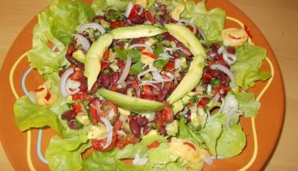 Mexicaanse bonensalade met avocado. lekker bij de bbq. recept ...
