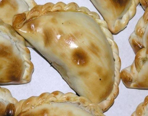 Curried pork empanadas recept