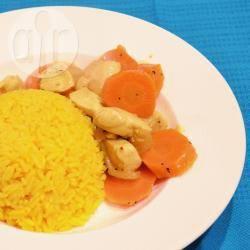 Kip kerrie met wortel recept