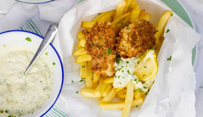 Klassieke fish & chips