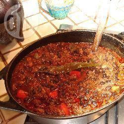 Chili con carne met chorizo recept