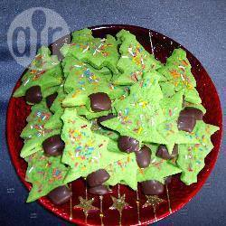 Kerstboomkoekjes recept