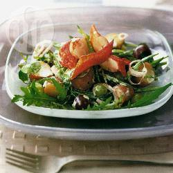 Kreeftsalade met limoendressing recept