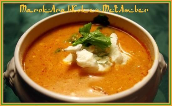 Pittige vissoep met tomaten,kikkererwten en couscous recept ...