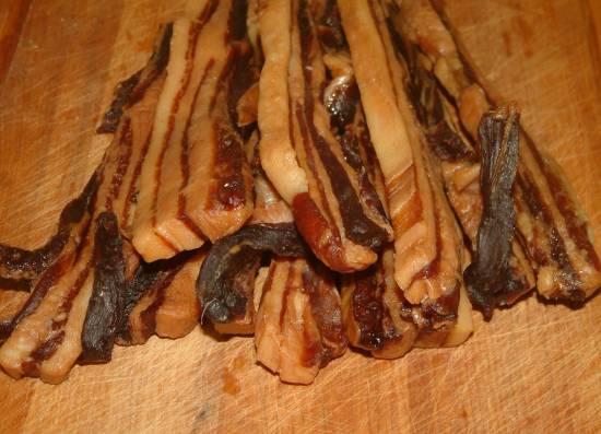 Zelfgemaakt chinees gedroogde spek recept