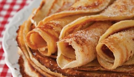Pannenkoeken met kaneel recept