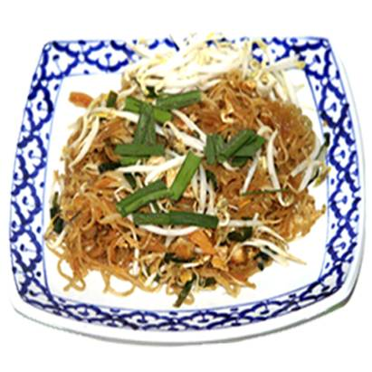 Pad thai  kip met gebakken thaise noedels recept