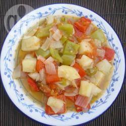 Bobbia (siciliaanse warme groentesalade) recept