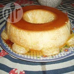 Sinaasappel flan recept