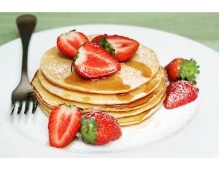 Glutenvrije pannenkoek met fruit recept