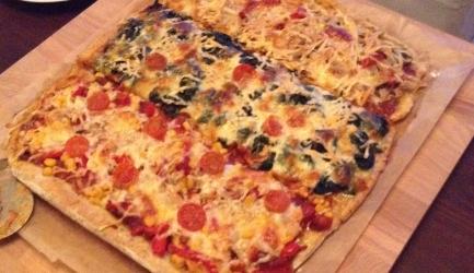 Bbq chicken pizza recept